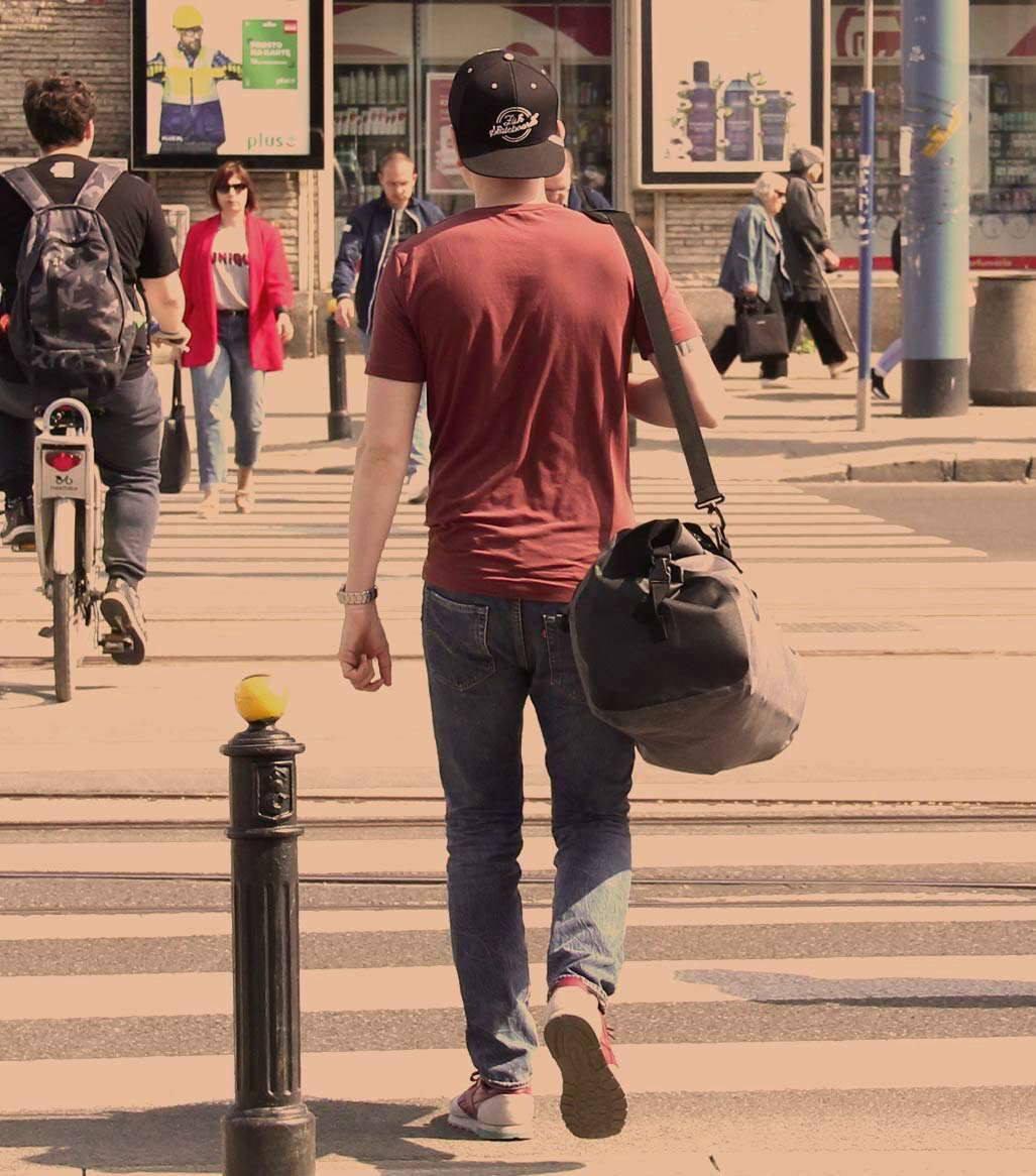 plecak miejski wodoodporny, wodoszczelny, nieprzemakaln DryPack